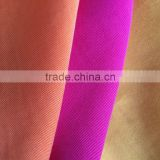 best selling china high quality colorful 100% rayon twill woven fabric