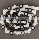 hot sale made in China 17 section plastic pulley group