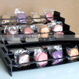 Acrylic Macaron Stand For Food Display