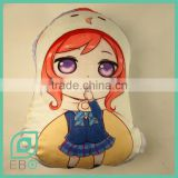 40/70 size pillow anime for sale love live! Maki Nishikino irregular shape plush cushion
