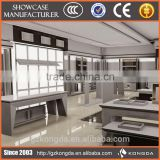 Elegant retail garment clothing menswear shop interior design