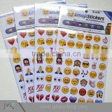 Custom sticker printing emoji stickers emoji face sticker                                                                         Quality Choice