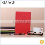 New design custom leather paper waterproof paper notebook