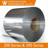 High Tensile Strength Cold Roll DDQ Quality 1000mm 1240mm Width SUS 201 304 Tisco Stainless Steel Coil
