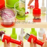 Hot sale Kitchen gadgets onion chopper/garlic press/vegetable slicer cutting Onions