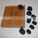 Chinese body health care Basalt Stones for 34PCS Carved Hot Stones Massage