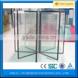 insulated Low-E glass panels/tempered sound proof glass/fire glass