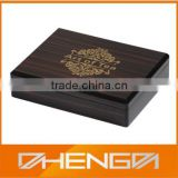 Hot!!! Customized Made-in-China Elegant Wooden Grain Precious Packaging Logo Printing Tea Gift Box (ZDW13-T024)