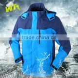 high quality men or women ski jacket fashion royal blue outdoor jacket waterproof and windproof ski jacket outdoor clothing
