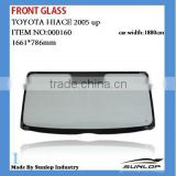 for toyota hiace front glass Hiace front windshield for hiace 2005 up,KDH 200,commuter 000160