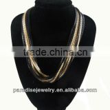 2013 Fashion Multilayers Link Chain Necklace For Woman-N330039