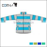New design lightweight european standard eco-friendly polyester womens colorful ski jackets
