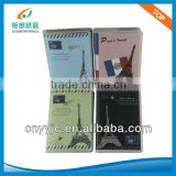 72K PVC colorful cover pocket fancy brand notebook