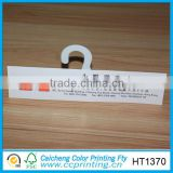 color printing glossy finish thick paper door hanger paper tag paper card