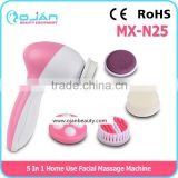 5 in 1 Facial Machine Electric Facial Brush Face Cleansing Brush Body Skin Care Massager