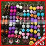 2014 best selling bubblegum cartoon pendant kids chunky necklace wholesale