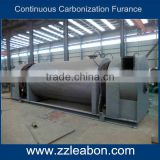Horizontal Continuous Charcoal Powder Carbonization Machine for Coconut Shell Sawdust Rice Husk