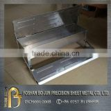 China supplier new product custom pet chicken galvanized feeder, customized metal animal feeder