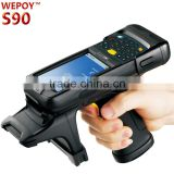 New Handheld Data Collector Win CE Wifi GPS GPRS Bluetooth Barcode Scanner Color Screen High Performance Industrial PDA