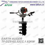 hand post hole earth auger/digger
