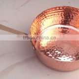 MASTER CHEF'S HAMMERED FINISH 100% PURE COPPER FRYING PAN KITCHEN APPLIANCE