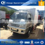 CLW customized 6 wheels 2 tons refrigerated box cargo truck for hot sale