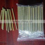 bamboo drinking straws without knot with laser your LOGO