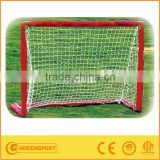 GSSGF100 mini soccer goal post plastic football goal posts kids training soccer goal with net