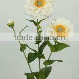 stable supplying variegate color purchase high quality artificial glitter christmas flowers