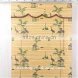 Standard digital bamboo printed day and night roller blind