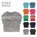 Customized Logo Pattern Welcome Baby Clothes Wholesale Girls Blank T Shirts Made In China