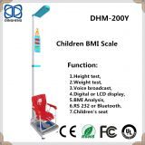 DHM-200Y Ultrasonic height and weight baby weighing scale with sitting height