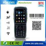 3.5 inch Dual-Core Android Handheld Barcode Scanner With Camera, WIFI, 3G