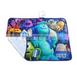 Customized Photo digital printing polar fleece blanket, Anti pilling Micro fiber throw blanket