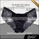 Women's Cotton Spandex Hipster Boyshort Lace Trim Underwear Panties Sheer sexy Lady Panty