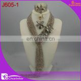 beads jewellery sets african beads jewelry nigerian party beads necklace set costume african jewelry sets J605-1