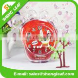 Cute cartoon feet alarm clock Crystal clock Creative gifts Clocks