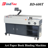 Automatic Exercise Book Making Machine Electric Art Paper Book BInding Machine Perfect Binder