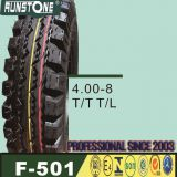 China High Quality Motorcycle Tire and Inner Tube 4.00-8