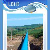 LIBO long distance belt conveyor system for power plant coal delivery