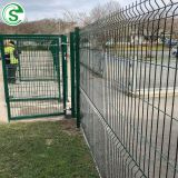 Best price galvanized welded wire mesh fence panels iron fencing