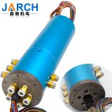 Pneumatic /Hydraulic Hybrid Slip Rings Rotary Joint Electrical Connector