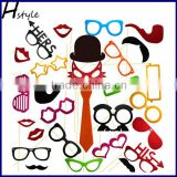 Christmas Halloween Birthday Party Photo Booth Props On A Stick for Party Favor Party Decoration PFB0038