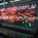 Synchronous video processor taxi camera P5 outdoor full color LED Taxi Roof Sign / Taxi Advertising display
