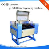 used desktop cnc engraving machines metal fiber laser glass painting machine 5030                                                                         Quality Choice