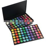 Hot wholesale China manufacture 120 colors shining eye shadow kit makeup naked eye shadow palette