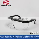 Hot customized black frame clear lens onion cutting safety goggles bulletproof welding metalcutting woodworking painting