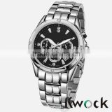 ISO9001 Stainless steel back quartz quality watches