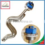 Stainless Steel 240V 5500W Ripple Screw In Electric heating element for brewing machine