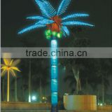 2014china outdoor&indoor artificial coconut led tree light/artificial LED coconut tree light- LED tree branch light